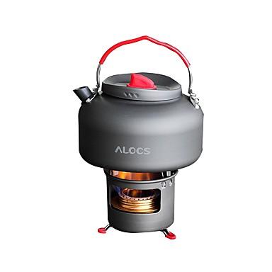 ALOCS Stative Încălzitor de Apă Camping Arzător Camping Cafea si ceai Articole de ceramică Alumină Dură pentru Camping & Drumeții Picnic