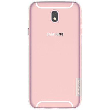 voordelige Galaxy J-serie hoesjes / covers-Nillkin hoesje Voor Samsung Galaxy J7 (2017) / J3 (2017) Ultradun / Transparant Achterkant Effen Zacht TPU voor J7 (2017) / J5 (2017) / J3 (2017)