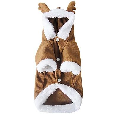 Câine Costume Îmbrăcăminte Câini Cosplay Crăciun Cafea