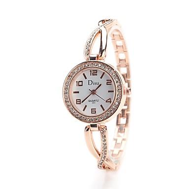 Pentru femei Simulat Diamant Ceas Ceas de Mână Ceas Elegant  Ceas La Modă Chineză Quartz imitație de diamant Aliaj Bandă Charm Vintage