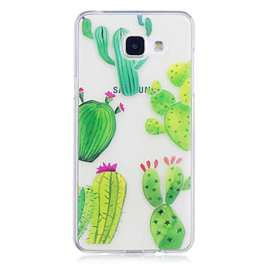 hoesje Voor Samsung Galaxy A5(2017) A3(2017) IMD Transparant Patroon Achterkant Bloem Zacht TPU voor A3 (2017) A5 (2017) A5(2016) A3(2016)