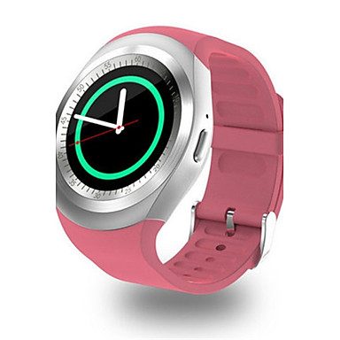 Heren Modieus horloge Digitaal Rubber Band Zwart Wit Blauw Roze