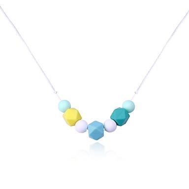 Pentru femei Lux Coliere cu Pandativ - Lux / Clasic / Elegant Geometric Shape Curcubeu Coliere Pentru Crăciun / Muncă / Club