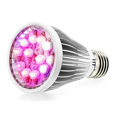 290-330 lm E14 GU10 E26/E27 Cultivarea becurilor 12 led-uri LED Putere Mare Alb Natural UV (Fosforescentă) Albastru Roșu AC 85-265V
