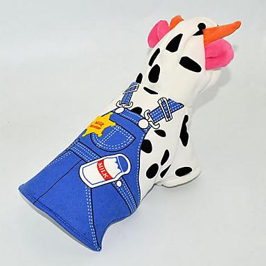 Hund Kostüme Kapuzenshirts Overall Hundekleidung Warm Atmungsaktiv Cosplay Lässig/Alltäglich Tier Kostüm Für Haustiere