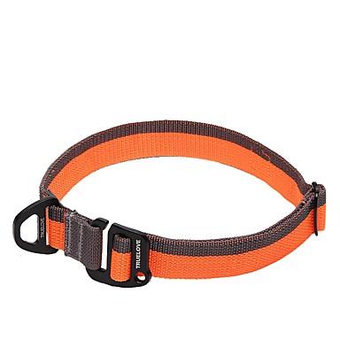 كلب باندانا الياقة مكافح الانزلاق الأمان قابل للتعديل سادة البوليستر صاف نايلون أسود برتقالي أصفر أحمر