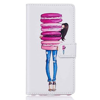 Caz pentru Apple iphone 7 plus 7 portbagaj capac portbagaj portofel cu stand flip model carcasă completă caz cu stylus alimente pu piele