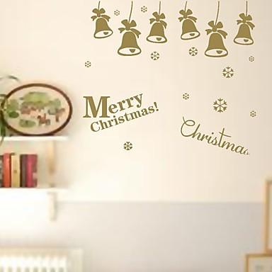 Weihnachten Romantik Feiertage Wand-Sticker Flugzeug-Wand Sticker Dekorative Wand Sticker,Papier Stoff Haus Dekoration Wandtattoo