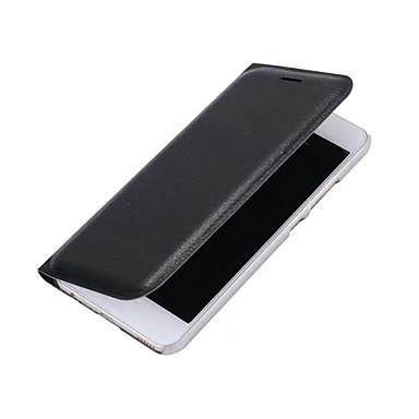 Maska Pentru Huawei P9 Huawei P9 Lite Huawei Titluar Card Întoarce Carcasă Telefon Culoare solidă Greu PU piele pentru P10 Plus P10 Lite