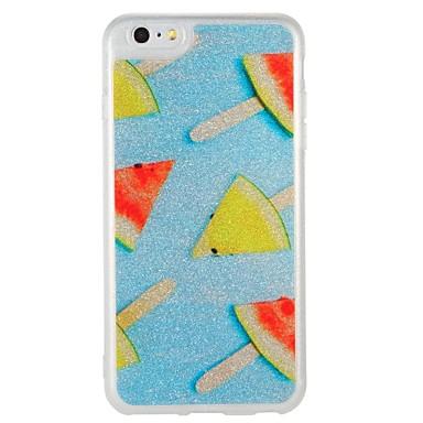 Caz pentru Apple iphone 7 plus iphone 7 acoperire strălucire în modelul întuneric spate acoperă cazul fructe stralucire straluceasca pc