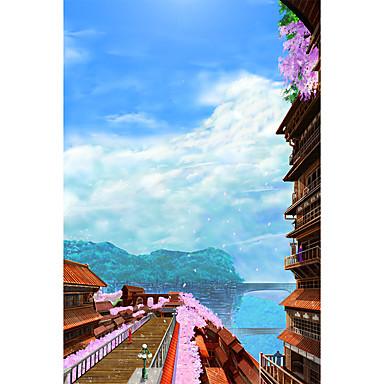 Holzpuzzle Berühmte Gebäude Chinesische Architektur Architektur Anime Zeichentrick Unisex Geschenk