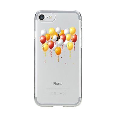Caz pentru iphone 7 6 balon tpu soft ultra-subțire spate cover cover cover iphone 7 plus 6 6s plus se 5s 5 5c 4s 4