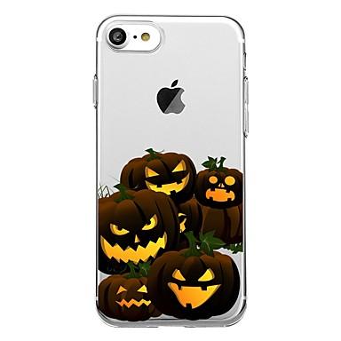 Pentru 7plus telefon caz transparent model de spate acoperire caz alimentare alunecare trup moale pentru iPhone 7 6splus 6plus 6 6s 5 5s