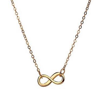 للمرأة قلائد الحلي مجوهرات سبيكة تصميم بسيط موضة قابل للتعديل مجوهرات الأولية أسلوب بسيط مجوهرات من أجل الغير هدية يوميا فضفاض ذهاب