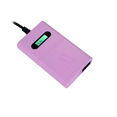 Adaptor laptop universal 70w cu 8 conectori cu tensiune automată de afișare USB