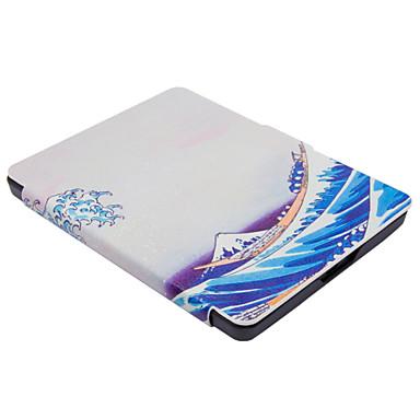 para Kobo glo hd virar capa de couro caso funda para Kobo toque 2.0 mar wave6 polegadas pode caber Kobo glo e-book