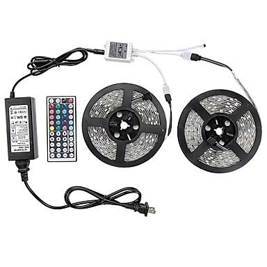 72W مجموعات ضوء 6500-7200 lm AC100-240 V 10 م 600 الأضواء RGB