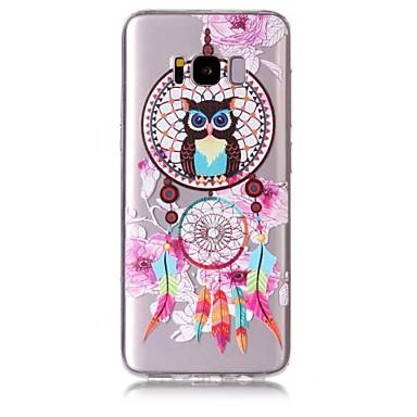 Maska Pentru Samsung Galaxy S8 Plus S8 Model Carcasă Spate Bufniţă Prinzător de vise Moale TPU pentru S8 S8 Plus S7 edge S7 S6 edge S6