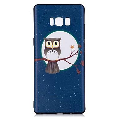 Maska Pentru Samsung Galaxy Note 8 Model Carcasă Spate Bufniţă Moale TPU pentru Note 8