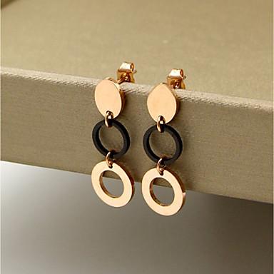Pentru femei Cercei Stud - Modă stil minimalist Rotund Pentru Casual Birou și carieră