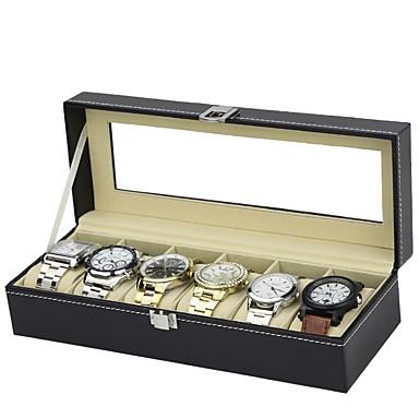 קופסאות לשעון עור אביזרי שעון 0.75 kg כלים