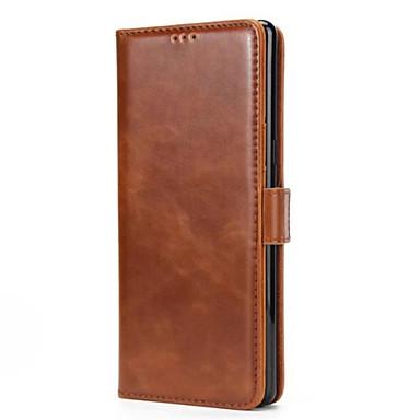 Maska Pentru Samsung Galaxy Note 8 Note 5 Portofel Titluar Card Cu Stand Întoarce Magnetic Corp Plin Culoare solidă Greu PU Piele pentru