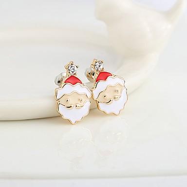 Pentru femei Cercei Stud imitație de diamant La modă Clasic Aliaj Bijuterii Bijuterii Pentru Zilnic Crăciun