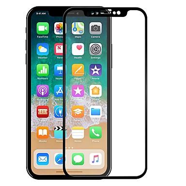 Protecteur d'écran Apple pour iPhone X Verre Trempé 1 pièce Ecran de Protection Avant Anti-Traces de Doigts Anti-Rayures Coin Arrondi