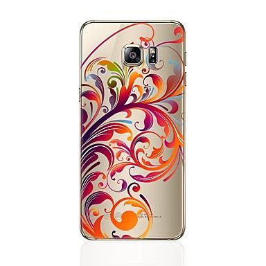 Coque Pour Samsung Galaxy S8 Plus / S8 Transparente / Motif Coque Fleur Flexible TPU pour S8 Plus / S8 / S7 edge