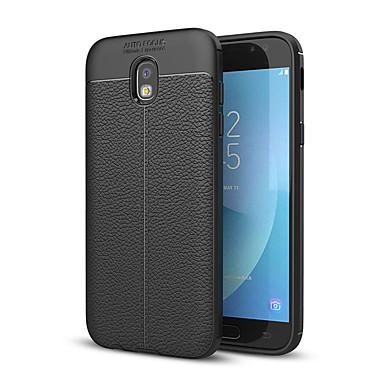 voordelige Galaxy J-serie hoesjes / covers-hoesje Voor Samsung Galaxy J7 Prime / J7 (2017) / J5 Prime Schokbestendig Achterkant Effen Zacht Siliconen