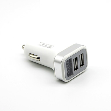 LED Display Multi Ports 2 USB Ports Charger Only DC 5V/2.1A