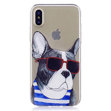 Pentru iPhone X iPhone 8 iPhone 8 Plus Carcase Huse Model Carcasă Spate Maska Câțel Moale TPU pentru Apple iPhone X iPhone 8 Plus iPhone
