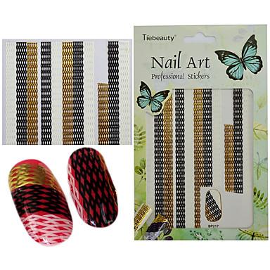 1 Nail Art autocolant 3-D Consumabile DIY Autocolant machiaj cosmetice Nail Art Design