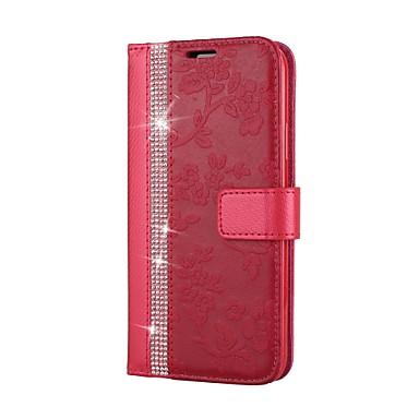 Con Con magnetica Porta chiusura di iPhone portafoglio Apple carte Custodia Integrale credito X Per A 06252713 iPhone 8 supporto diamantini Con 4aqx6Sgw