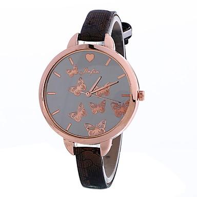 Pentru femei Ceas de Mână Ceas Elegant  Ceas La Modă Chineză Quartz PU Bandă Charm Casual Elegant Negru Alb Albastru Roșu Maro Pink Bej