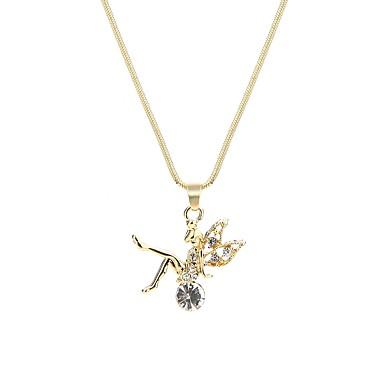 Pentru femei Prinţesă Formă Personalizat De Bază Coliere cu Pandativ Diamante Artificiale Aliaj Coliere cu Pandativ Serată