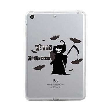 Maska Pentru Apple iPad Mini 4 iPad Mini 3/2/1 iPad 4/3/2 iPad Air 2 iPad Air iPad (2017) Transparent Model Capac Spate Halloween Moale