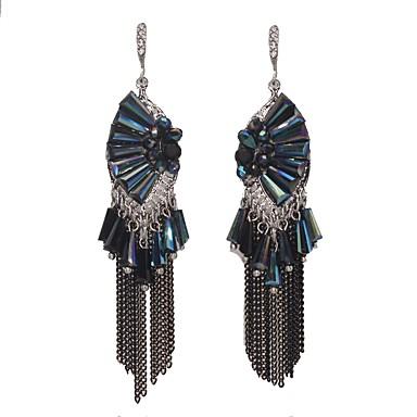 Pentru femei Cercei Picătură Cristal Ștras La modă Stâncă Clasic Elegant Bling bling Cristal Ștras Aliaj Bijuterii Pentru Zilnic Casual