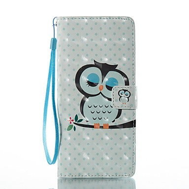 Maska Pentru Samsung Galaxy Note 8 Titluar Card Portofel Cu Stand Întoarce Model Carcasă Telefon Bufniţă Greu PU piele pentru Note 8