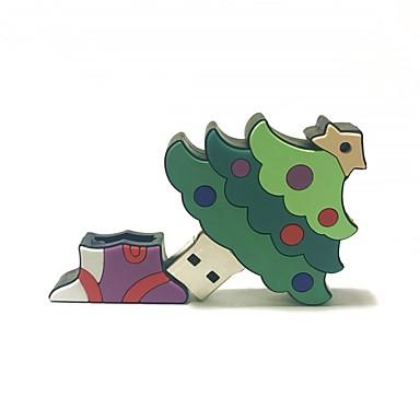 16gb Crăciun usb flash drive desen animat creativ Crăciun copac Crăciun cadou usb 2.0