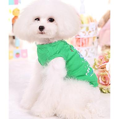 Câine Γιλέκο Îmbrăcăminte Câini Respirabil Casul/Zilnic Marinar Verde Albastru Costume Pentru animale de companie