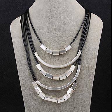 Pentru femei Coliere cu Pandativ Bijuterii Geometric Shape Argilă La modă Bijuterii Pentru Zilnic