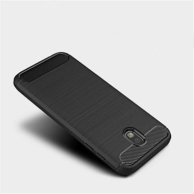 voordelige Galaxy J-serie hoesjes / covers-hoesje Voor Samsung Galaxy J7 (2017) / J5 (2017) / J3 (2017) Mat Achterkant Effen Zacht TPU