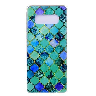 Maska Pentru Samsung Galaxy Note 8 Note 5 Ultra subțire Model Carcasă Spate Model Geometric Moale TPU pentru Note 8 Note 5 Edge Note 5