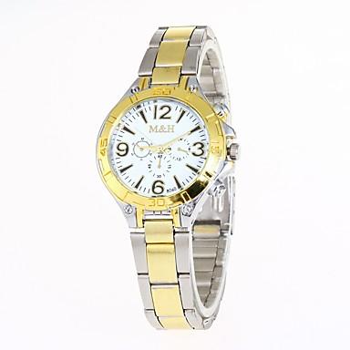 Pentru femei Ceas de Mână Ceas La Modă Chineză Quartz Aliaj Bandă Casual Auriu