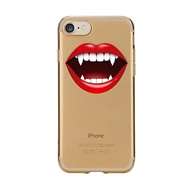 Pentru iPhone 7 iPhone 7 Plus Carcase Huse Model Carcasă Spate Maska Femeie Sexy Moale TPU pentru Apple iPhone 7 Plus iPhone 7 iPhone 6s