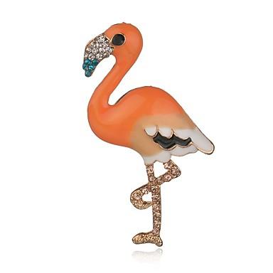 Pentru femei Fete Broșe Bijuterii Design Animal Adorabil Aliaj Pasăre Bijuterii Pentru Petrecere Cadou