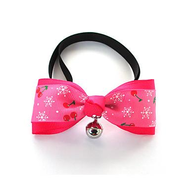 Câine Cravată/Papion Îmbrăcăminte Câini Casul/Zilnic Solid Negru Mov Rosu Albastru Roz