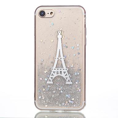 Pentru iPhone 7 iPhone 7 Plus Carcase Huse Model Carcasă Spate Maska Turnul Eiffel Moale Silicon pentru Apple iPhone 7 Plus iPhone 7