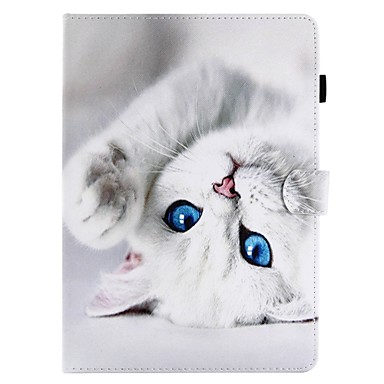 Case For Apple iPad Pro 11'' Wallet / Card Holder / with Stand Full Body Cases Cat Hard PU Leather for iPad Air / iPad 4/3/2 / iPad (2018) / iPad Pro 10.5 / iPad (2017)